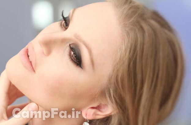 آموزش آرایش چشم اسموکی www.campfa.ir