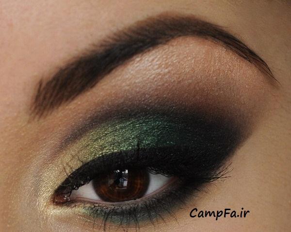 مدل های آرایش چشم 2013|www.campfa.ir