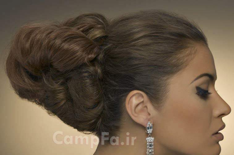 مدل شینیون با انواع بافت 2013 www.campfa.ir