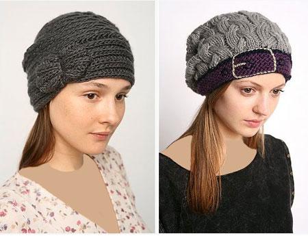 مدل کلاه بافتنی زنانه و دخترانه زمستان 92