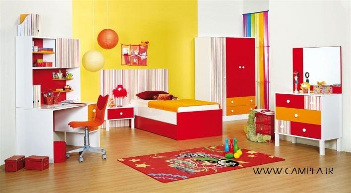 مدل جدید دکوراسیون اتاق کودک 2013 - www.campfa.ir