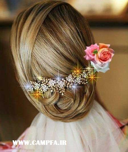 شینیون مو,آرایش مو زنانه و دخترانه