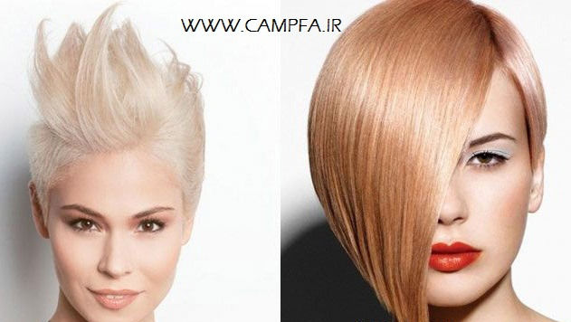 رنگ مو برای رنگ پوست های متفاوت _ www.campfa.ir