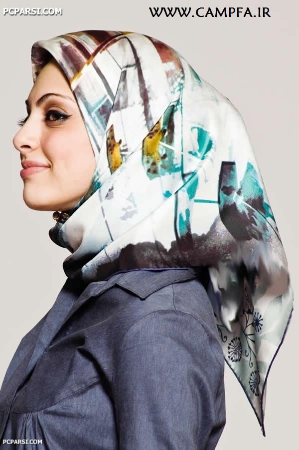 مدل جدید شال و روسری های شاد www.campfa.ir