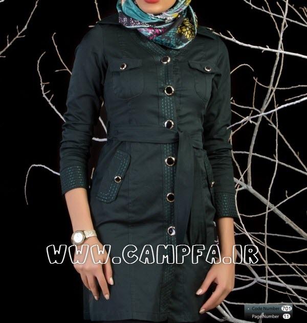 شیک ترین مدل مانتو های ایرانی سال 1392 (3) www.campfa.ir