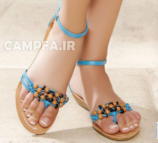 CAMPFA.IR مدل های جدید صندل دخترانه 92