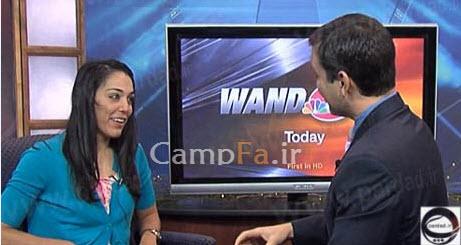 خواستگاری رومانتیک آقای مجری حین اجرای زنده اخبار| www.campfa.ir