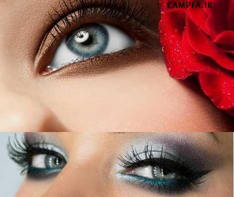 ارایش چشم