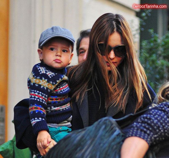 Miranda+Kerr makes 1 عکس های مدل مشهور جهان با پسرش