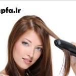 10 نکته برای اتو کشیدن مو