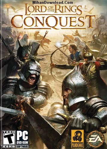 The Lord of the Rings Conquest بازی ارباب حلقه ها