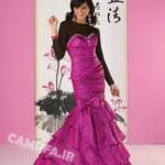 طرح های متنوع لباس مجلسی زنانه 2013