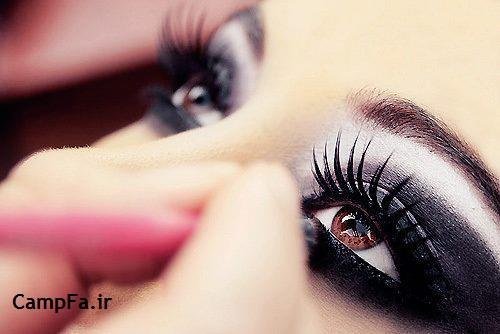 آموزش آرایش چشم - ترفندهای زیباتر شدن چشم ها | www.campfa.ir
