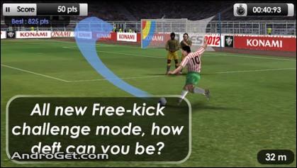 بازی فوتبال حرفه ای برای اندروید PES 2012 Pro Evolution Soccer v1.0.5 2