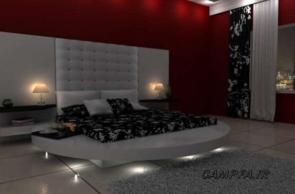مدل های جدید دکوراسیون اتاق خواب 2013 www.campfa.ir