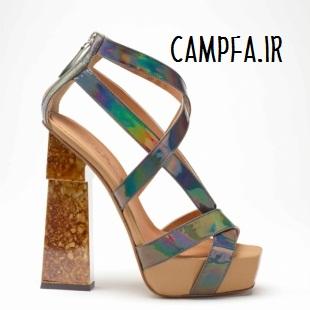 مدل کفش پاشنه بلند تابستانی www.campfa.ir 92