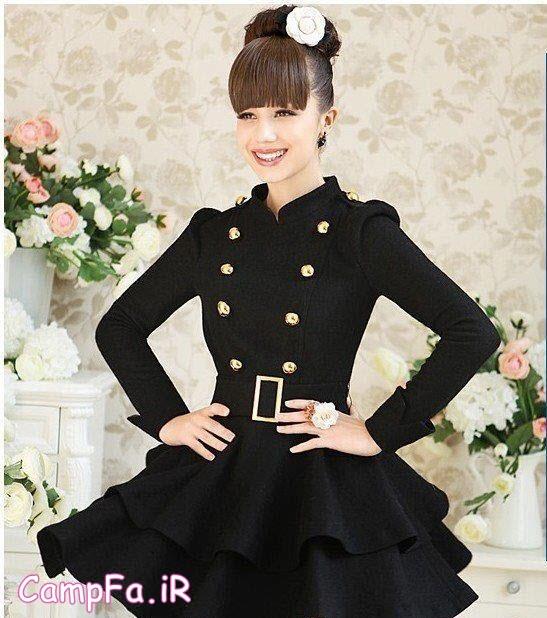 مدل پالتوهای دخترانه کره ایی 2014 سری دوم