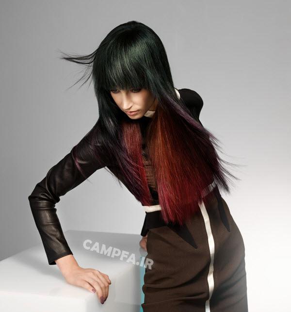 مناسب ترین رنگ مو را برای موهایمان,انتخاب رنگ مو مناسب