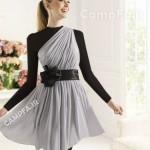 مدل لباس مجلسی کوتاه زنانه و دخترانه سال 2013