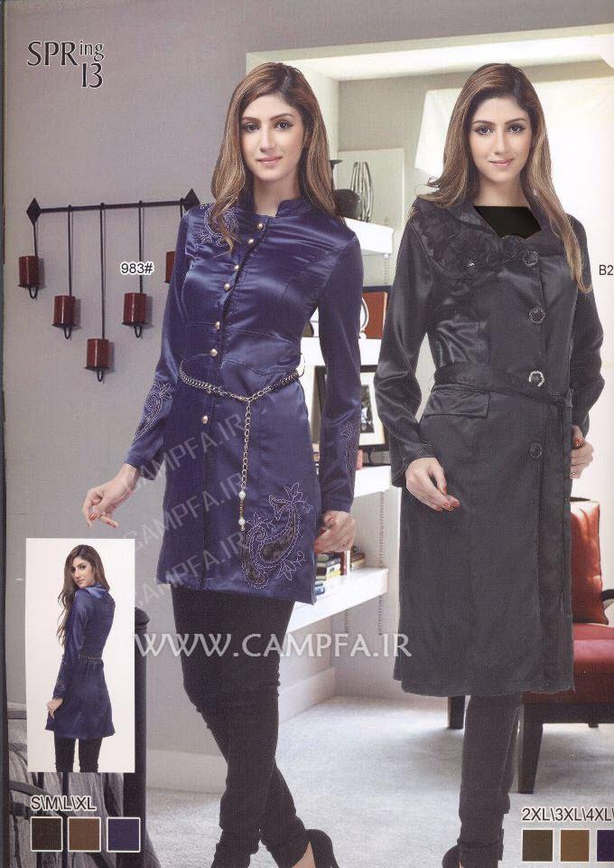 مدل های جدید مانتو در سال 92 www.campfa.ir
