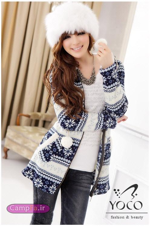مدل لباس زمستانی طرح کره ایی| wWw.CampFa.ir