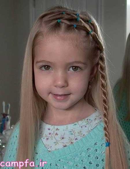 مدل موی زیبا مخصوص دختران خردسال