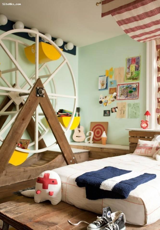 مدل دکوراسیون 2013 اتاق کودک