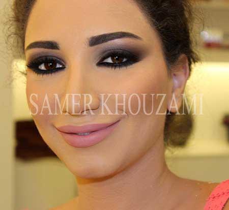 مدل های آرایشی صورت و سایه چشم 2014