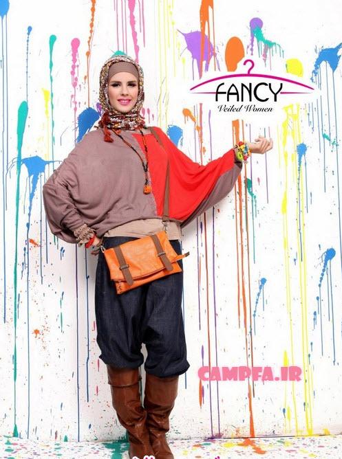 مدل جدید مانتو و لباس رنگی ۲۰۱۳| www.campfa.ir