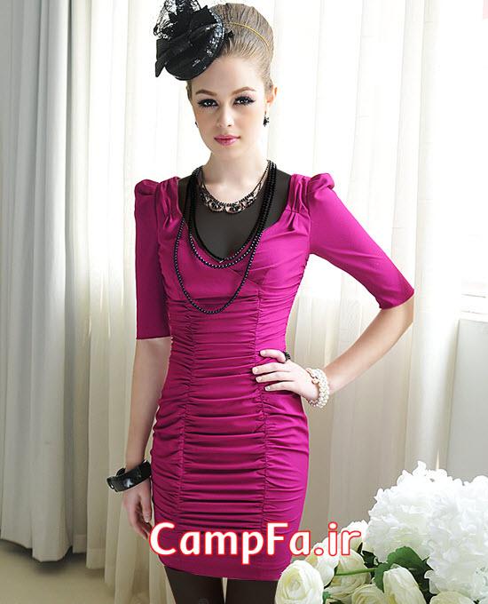 مدل لباس مجلسی و مهمانی دخترانه 2013