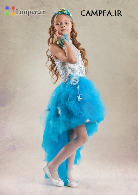 مدل لباس مجلسی شیک دخترانه 2014