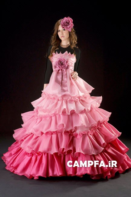 مدل لباس مجلسی ژاپنی 2013 www.campfa.ir