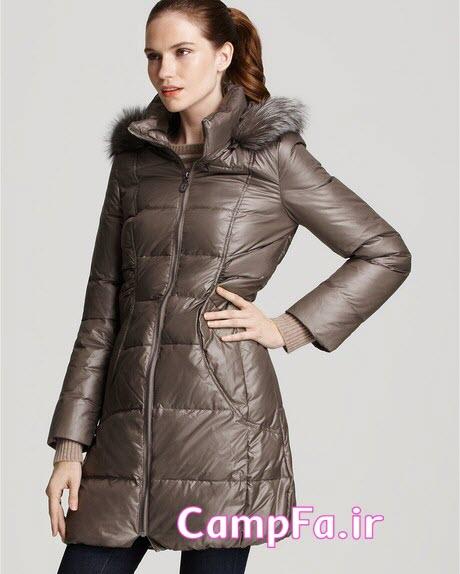 پالتو زنانه 2014 , مدل کاپشن زمستانی