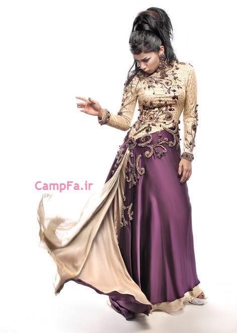 مدلهای جدید لباس مجلسی عربی | www.campfa.ir