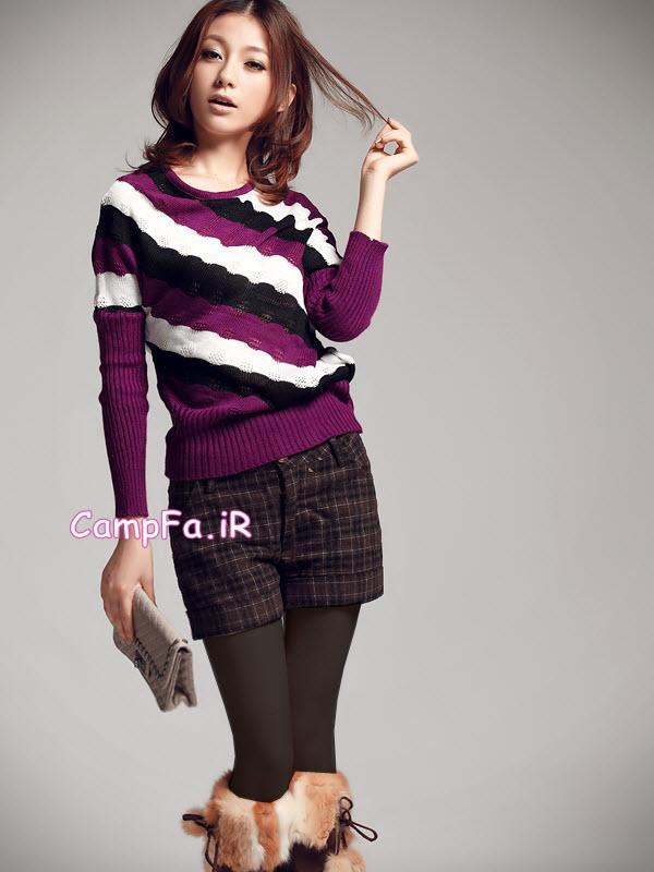 انواع مدل های لباس دخترانه شیک کره ایی