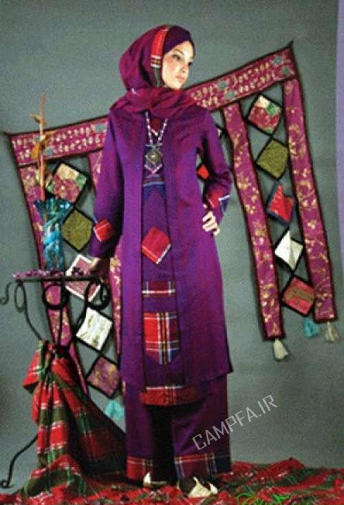 مدل های مانتو سنتی 92 - www.campfa.ir