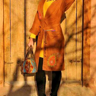 مدل مانتو سنتی دست ساز ایرانی 92