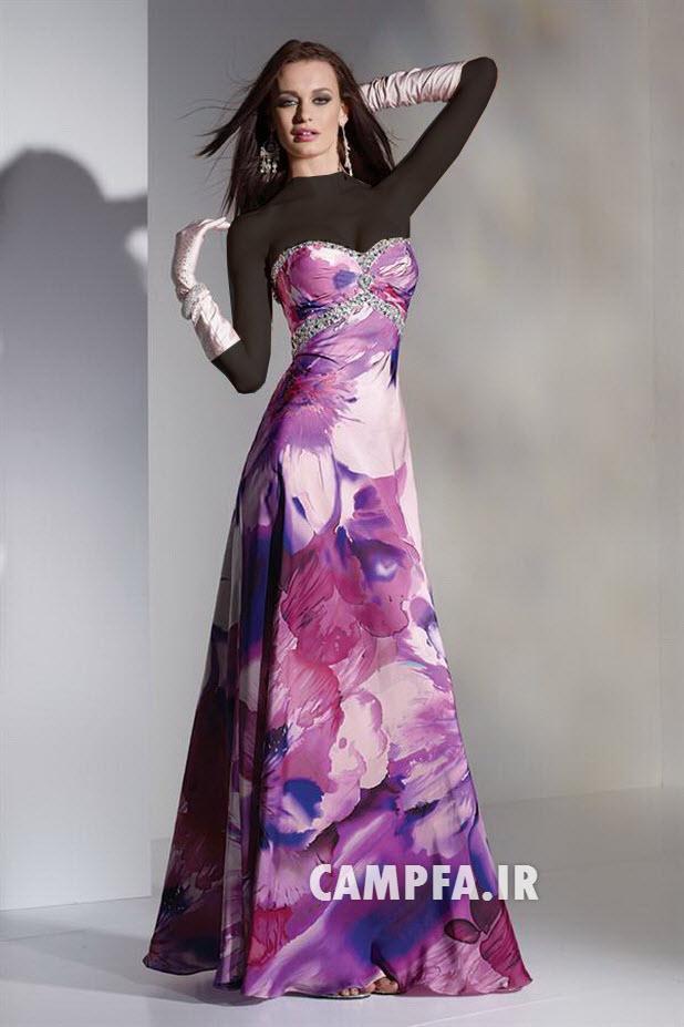 مدل لباس شب جدید 2013- 92 www.campfa.ir