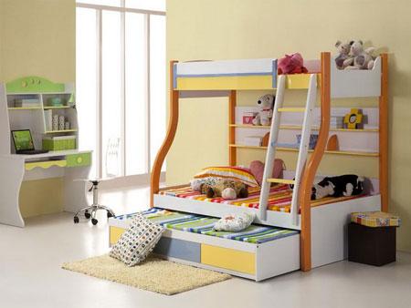 دکوراسیون و مدل تخت خواب بچه ۲۰۱۳