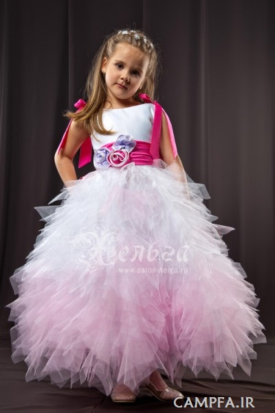 مدل لباس مجلسی های جدید بچه گانه 2013 - www.campfa.ir