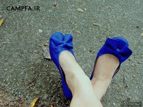 campfa.ir مدل کفش های پاپیون دار دخترانه 92