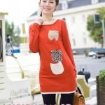 مدل لباس پاییزی دخترانه کره ایی | مدل سویتر 2013