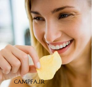 حقایق وحشتناک درباره خوردن چیپس - www.campfa.ir