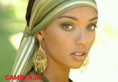 مدل ارایش صورت دخترانه جدید ۲۰۱۳ www.campfa.ir