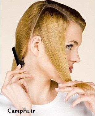 آموزش بافت مو جدید,بافت مو یکطرفه