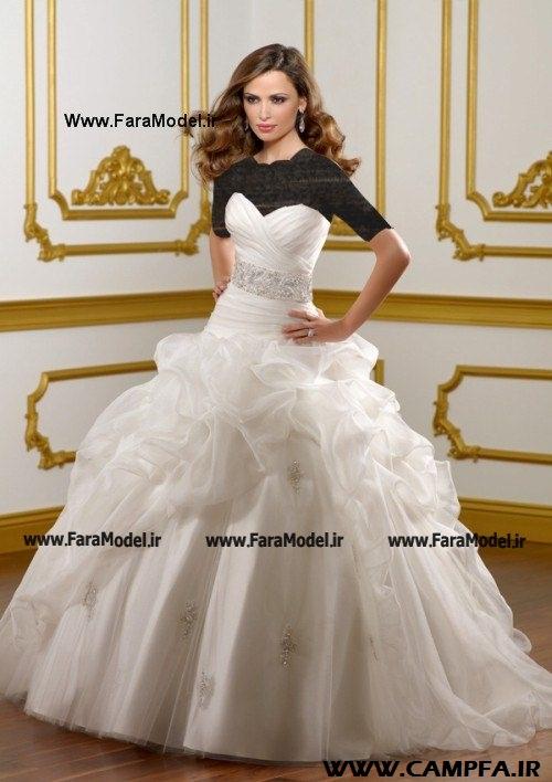 مدل لباس عروس در طرح شیک و خوشگل | www.campfa.ir