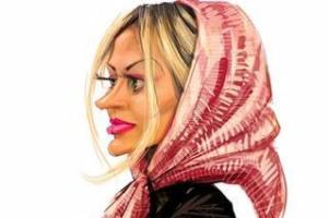 روسری را جلو بکش خواهر! (طنز) کمپ فارسی
