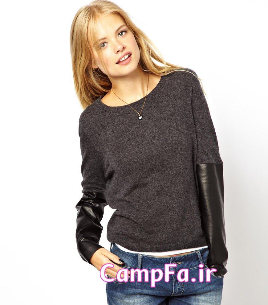 مدل لباس بافتنی زنانه 2014