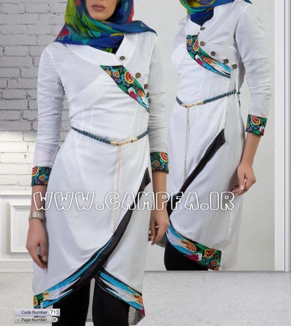 شیک ترین مدل مانتو های ایرانی سال 1392 (2) www.campfa.ir