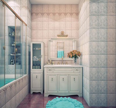 مدل های جدید دکوراسیون حمام و دستشویی campfa.ir
